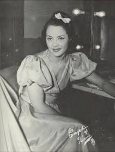 Fredi Washington, African American actress