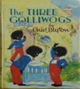 """Beloved"" children's novel The Three Golliwogs"
