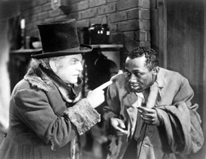 Stepin Fetchit's greatest role. The cowering, confused black man. His parts made him a very wealthy man.