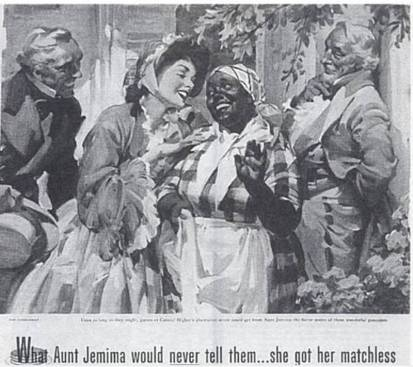 "The ""Happy"" darkie myth of Aunt Jemima"