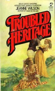 Troubled Heritage showing the black brute character on its cover