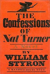 "Cover of the novel ""The Confessions Of Nat Turner"""