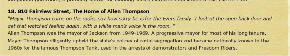 "Mayor Allen Thompson, not even close to being a ""progressive mayor"" during segregation"