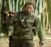 Robert Downey Jr. as Lincoln Osirus from the comedy Tropic Thunder