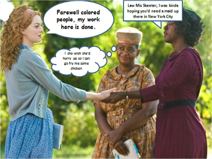 ... : 'The Help was a big hit, probably helped by the movie of the book