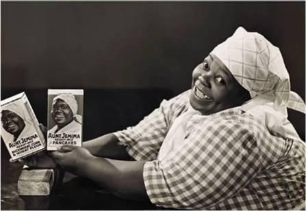 Smiling Aunt Jemima clone