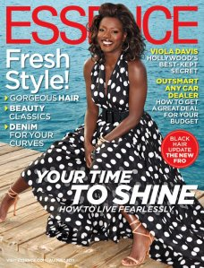 Viola Davis on Essence Mag cover