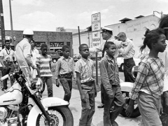 Children arrested while protesting segregation. Young males and females who still have a prison record to this day, as a badge of honor for standing up against inequality.