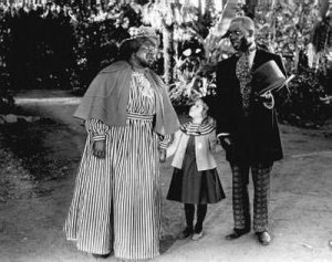 "Hattie McDaniel,  Shirley Temple and Bill ""Bojangles"" Robinson"