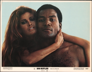 100 Rifles, a western that featured Jim Brown, Raquel Welch and Burt Reynolds