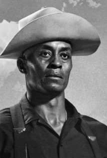Former UCLA star athlete Woody Strode, the star of Sargeant Rutledge