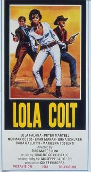 Lola Colt poster starring Lola Falana
