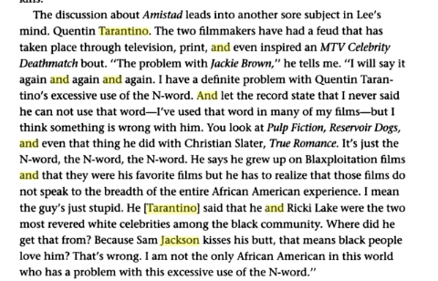 Spike Lee interview quote