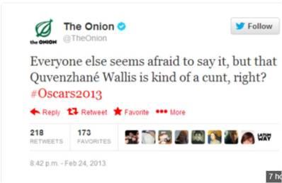 The tweet that The Onion will always regret