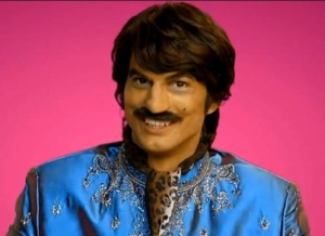 Ashton Kutcher in Brownface ad that was pulled