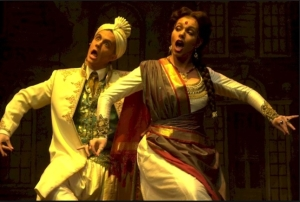 Brownface in action during a production of The Mystery of Edwin Drood