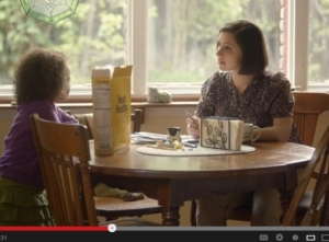 Cheerios commercial, featuring interracial couple and biracial child