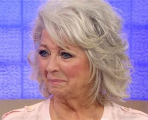 Paula Deen emotes on The Today Show. Photo from nbcnews.com