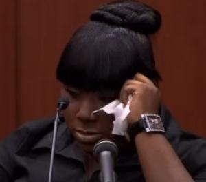 Rachel Jenteal tears up in  court