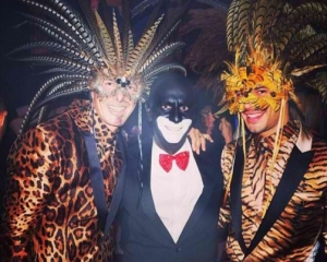 "Fashion Designer from Dolce and Gabbana dons old skol blackface at party called ""Disco Africa"""