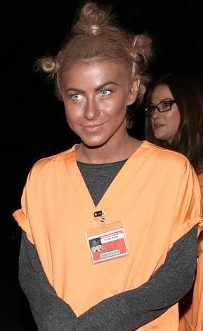 Julianne Hough's version of blackface