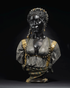 Mauresque Noire  aka Black Moorish Woman by Charles Cordier