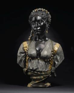 Mauresque Noire  aka Black Moorish Woman by Charles Cordier