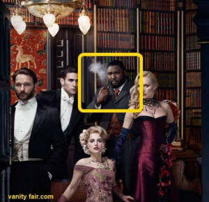 NBCs Dracula confuses some people because the cast includes a black manservant