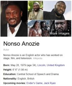 Nonso Anozie Bio