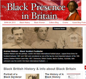 The Black Presence in Britain site