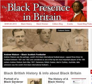 The Black Presence in Britain site