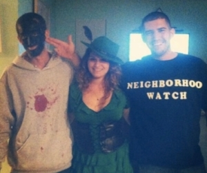 These people thought dressing as Trayvon Martin and George Zimmeran would be hilarious. Only no one is laughing, and now neither are they.