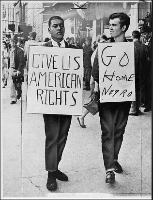 Go home Negro photo