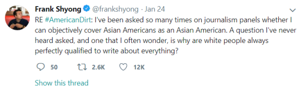Frank Shyong tweet